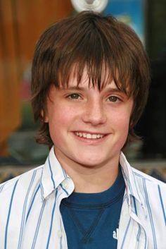 Josh aka Peeta is smaller! Still so cute!!