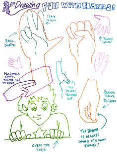 Drawing Hands Classroom Visual Aid by Tigrikorn, via Flickr