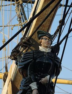 Figurehead of the HMS Bounty, Tall Ships, Halifax.