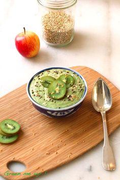 porridge sarrasin kiwi - mâches