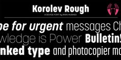 Korolev Rough (25% discount, from 39€)   https://fontsdiscounts.com/korolev-rough-25-discount-from-39e