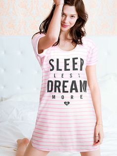 I like mine a lot, just wish it was a little longer (tall girl problems lol) The Angel Sleep Tee by Victoria's Secret