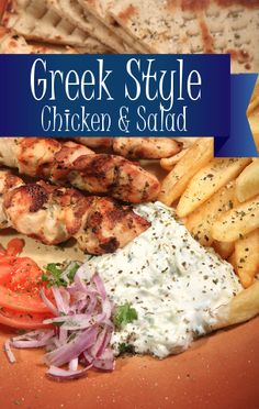 Michael Symon's greek style grilled chicken recipe will spice up any griller's repetoire.