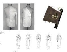 Fashion Sketchbook - fashion design sketches, draping & development; fashion portfolio // Ross Paul McNaughton