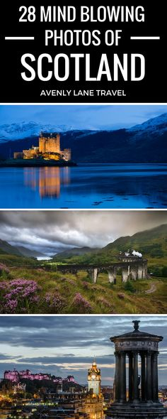 Scotland is one of the most beautiful countries in the world! Click through to see 28 AMAZING Photos of Scotland!