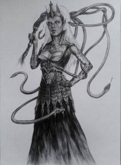 Quenthel Baenre by YriCale.deviantart.com on @deviantART