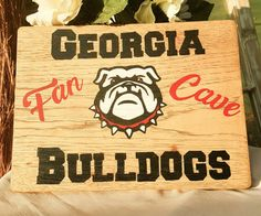 Uga Man Cave Signs : Best man caves images cave and