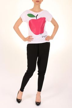 Tricouri - Dona Kyros Capri Pants, Fashion, Moda, Capri Trousers, Fashion Styles, Fasion