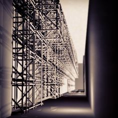 scaffolding wall #render #architecture