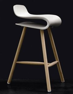 BCN Wooden Base From Kristalia Delff Overgne Chaise Haute Cuisine