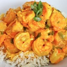 Creamy Turmeric Shrimps Recipe on Yummly Shrimp Recipes, Fish Recipes, Indian Food Recipes, Great Recipes, Favorite Recipes, Ethnic Recipes, Fish Dishes, Seafood Dishes, Chicken