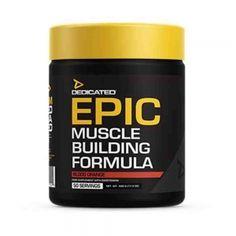 EPIC Pre-workout, Dedicated Nutrition, 488g/50serviri