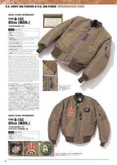 BUZZ RICKSON'S B15-C Modified Navy Jacket, Bomber Jacket, Military Jackets, Field Jacket, Fashion Wear, Workwear, Flyers, Fall Winter, Army