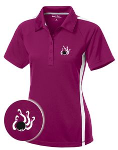 0fd181c9 77 Best Ladies Tees images in 2019 | Vintage bowling shirts, Polo ...