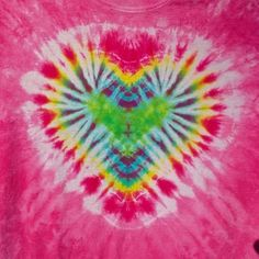 Tutorial: How to tie dye a heart