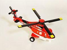 TOMICA Disney / PIXAR PLANES Fire & Rescue Blade Ranger - Veteran Helicopter