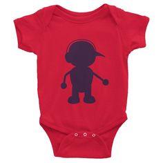 Deep Purple MiniJack - Infant short sleeve one-piece