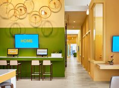Looking for an apartment in Central Austin? Stop by the leasing office at AMLI at Mueller!