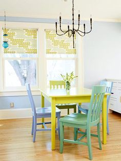 Casual Dining by Catie Bielecki found at http://www.bhg.com/rooms/dining-room/themes/casual-dining-room-decorating/?rb=Y#