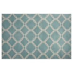 Check out this item at One Kings Lane! Claude Rug, Blue/Ivory