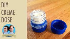 Creme Döschen selbermachen   Plastik Flaschen DIY