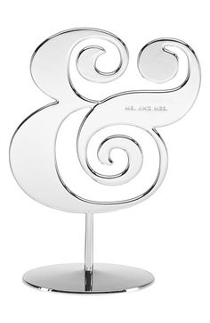 kate spade mr. & mrs. ampersand wedding cake topper http://rstyle.me/n/vc659nyg6