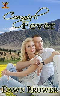 Cowgirl Fever - Novak Springs -  Book 1 By Dawn Brower  	A true cowgirl knows how to wrangle her man. Being able to tie your guy in knots, literally and figuratively, is pure skill. Will cowgirl fever run wild as they explore every inch of the ranch and each other?