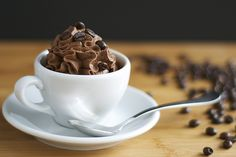 How to make Espresso Chocolate Mousse! Yet another thing for me to get addicted to, and I love it!