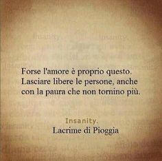 ... forse l'amore ....