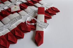 Origamis no porta hashi