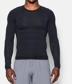 Men's UA HeatGear® Armour Printed Long Sleeve Compression Shirt | Under Armour US
