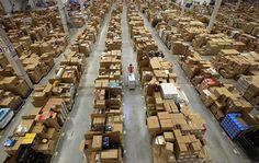 What it looks like inside Amazon