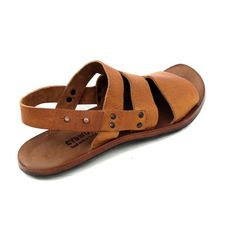 Mens Sandals Leather 13 Brown Mens Sandals That Cover Toes Leather Sandals, Shoes Sandals, Women Sandals, Shoes Women, Mens Fashion Shoes, Fashion Boots, African Shirts For Men, Male Fashion Trends, Flats