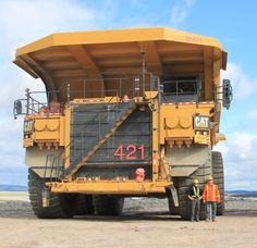 Camion 797F (400 ton cap.)