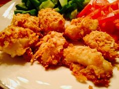 Breaded Cod nuggets - so quick and easy!