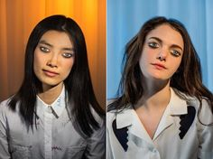 Doll-like portrait photos with eyeballs painted on eyelids. Photographer Laurie Simmons  made it her goal to understand why some people turn themselves into living, breathing Barbie Dolls in her latest series, 'How We See.'
