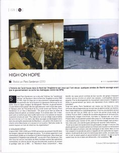 French Magazine TSUGi lists High On Hope in the top 100 music films of all time - here is the review
