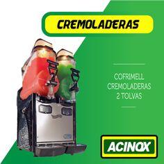Cremoladera Cofrimell 2 Tolvas