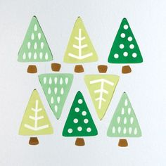 Deco Christmas Trees | GelWonder | Use to decorate your windows or any non-porous surface