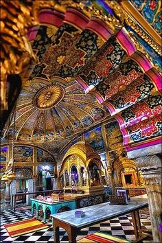 Delhi, digambar jain mandir in old delhi