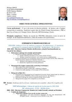 image result for cv en francais exemple - Model De Cv En Francais