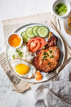 Com Suon Nuong Recipe, Bento Recipes, Healthy Recipes, Food Flatlay, Bistro Food, Easy Homemade Recipes, Food Photography Tips, Pork Tenderloin Recipes, Food Menu
