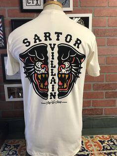Panther Short Sleeve Pocket T-shirt (natural color) Barbershop, Panther, Chairs, Pocket, Natural, Sleeves, Mens Tops, Cotton, T Shirt