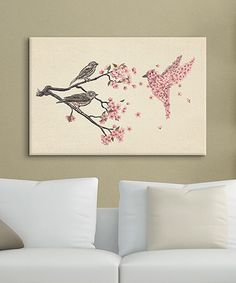 Another great find on #zulily! Terry Fan Blossom Bird Gallery-Wrapped Canvas by Terry Fan #zulilyfinds
