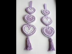 Hanging 'Hippy Hearts' Decoration – Crochet Tutorial Share the love… Feel the love…. with this Lovely… HANGING 'HIPPY HEARTS' DECORATION These 2 dimensional embellished hearts are completely unique, making them a wonderful project… source Crochet Cross, Crochet Home, Crochet Gifts, Easy Crochet, Reverse Single Crochet, Single Crochet Stitch, Crochet Design, Crochet Patterns, Crab Stitch