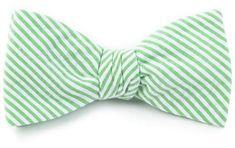 33177f17eeb9 Crab/Skipjack Seersucker Bow Tie in Summer Green and Ocean Channel by  Southern Tide | Products | Southern tide, Seersucker, Tie