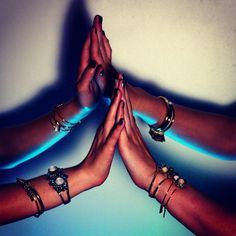 """Make magic happen! ✨ Photographer: @gervaismatt #kriskyria #mystical #mystisism #mystic #boho #brass #bangles #bracelet #statementjewelry…"""