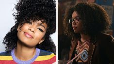 Chilling Adventures of Sabrina Star Jaz Sinclair on Rosalind's Surprising Twist and Female Friendships Jaz Sinclair, Female Friendship, Teen Vogue, Wicca, Adventure, Stars, Chilling, Hair Styles, People
