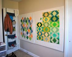 Removable Design Board - for getting quilt blocks off the floor and out of the way of the  toddler & dog!!