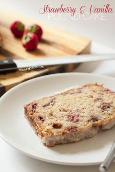 Strawberry and Vanilla Pound Cake | Tasty Kitchen: A Happy Recipe Community!